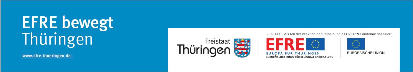 Logo EFRE bewegt Thüringen